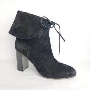 NEW Free People Mila Slouch Pull On Boot Black 8